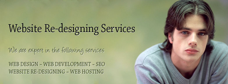Website Re-designing Services